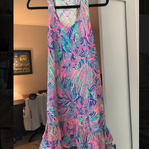 NWT- Lilly Pulitzer Evangelina Dress-XS